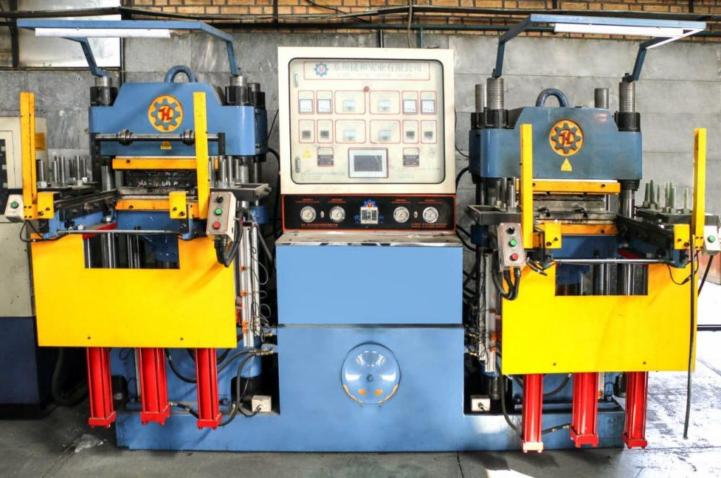دستگاه پرس پخت کامپرشن